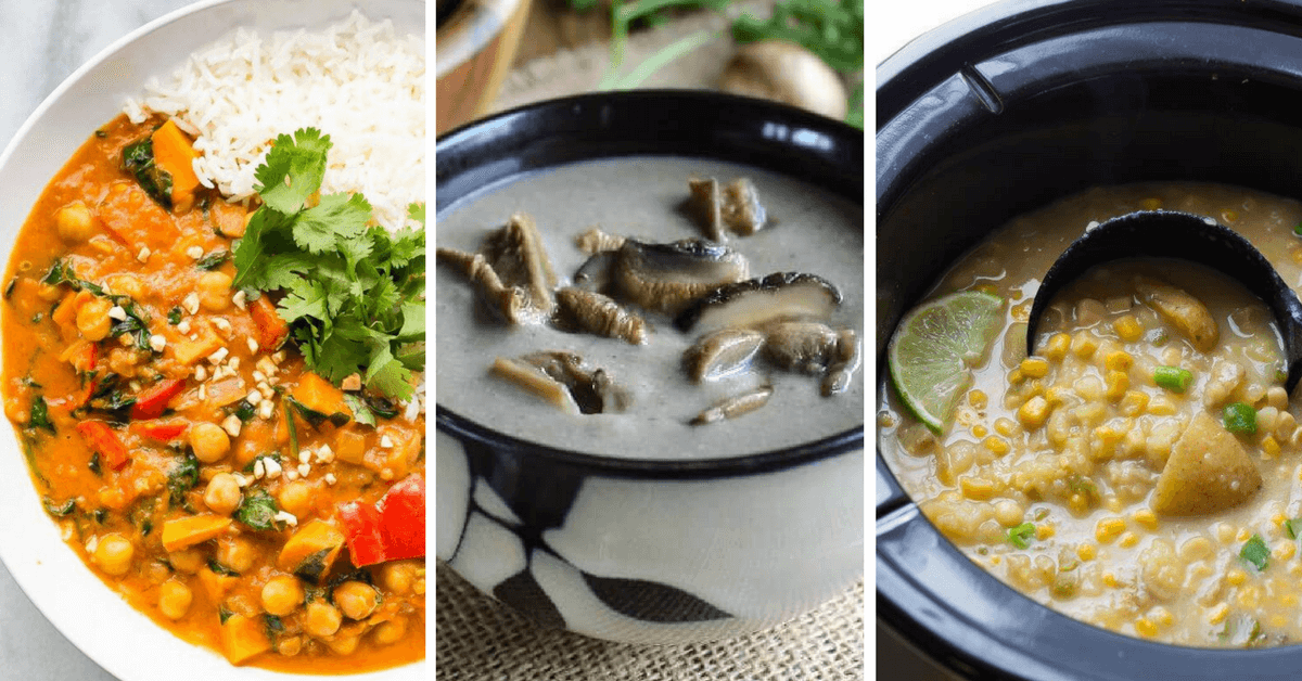 Vegan Crock Pot /Slow Cooker soups and stews recipes