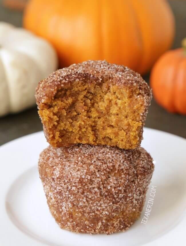 Vegan Pumpkin Muffins (gluten-free)