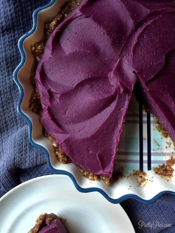 Vegan Purple Sweet Potato Pie (paleo)
