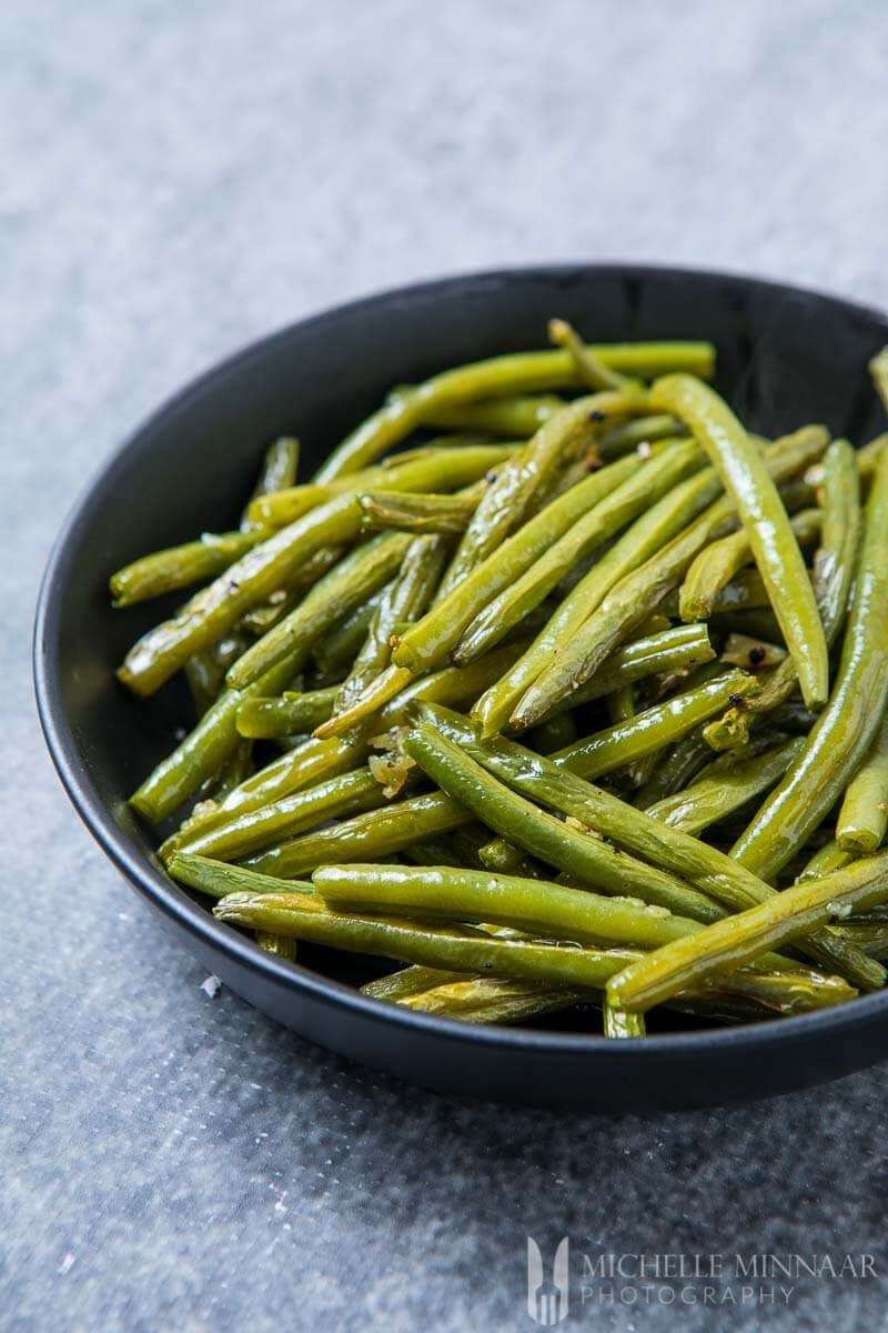 Garlic Roasted Green Beans