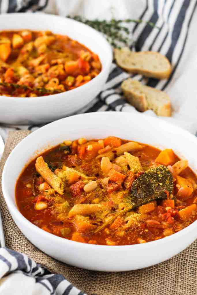 Minestrone with Butternut Squash