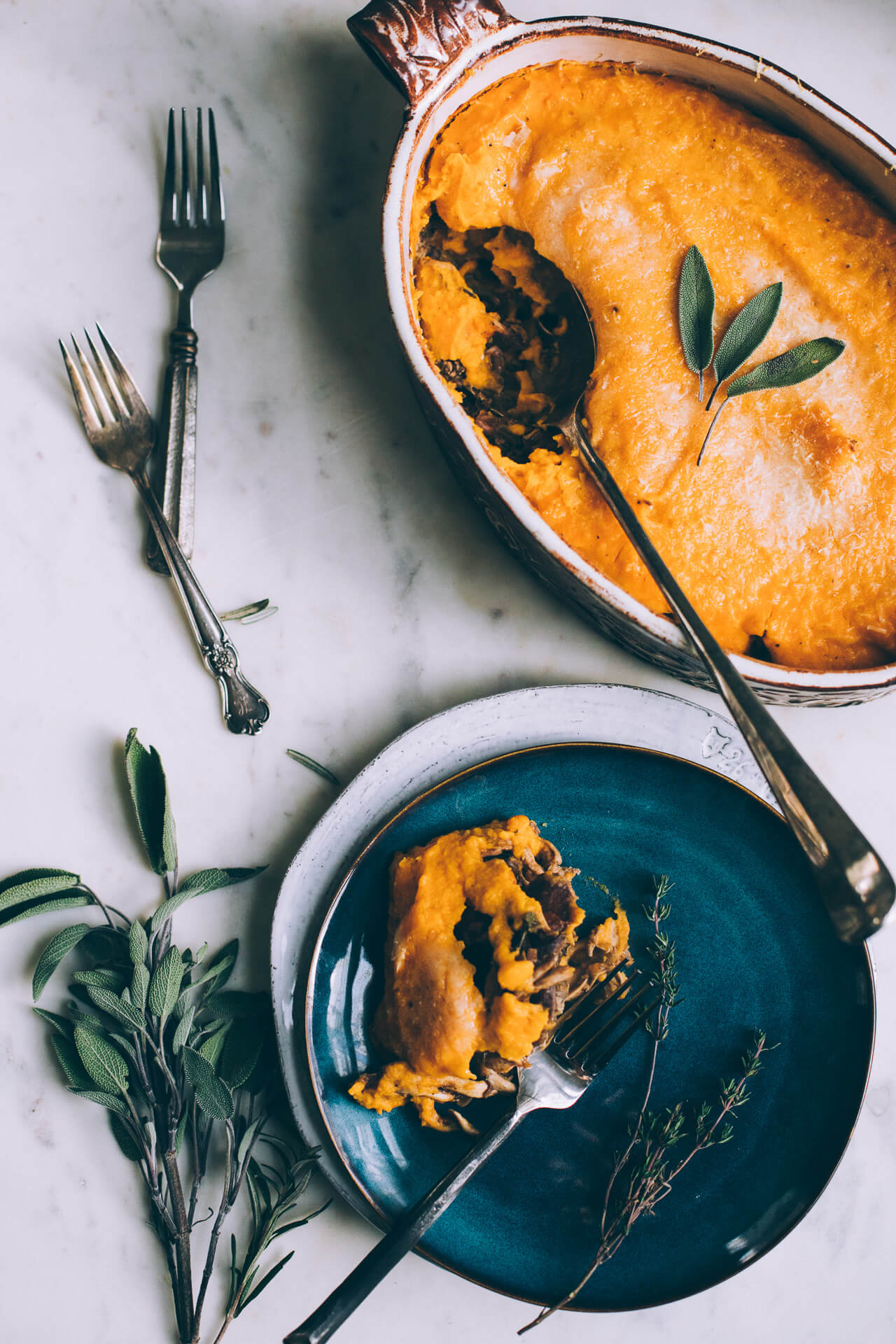 Butternut Squash Shepherds Pie (gluten-free)