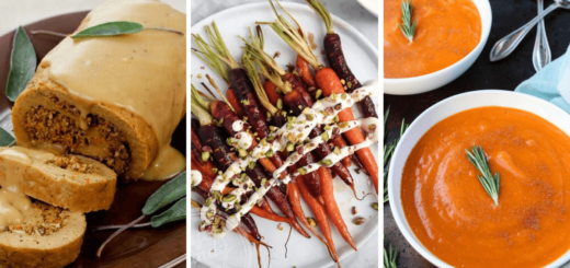 Vegan Thanksgiving Dinner Recipes (Main Dish+Sides)