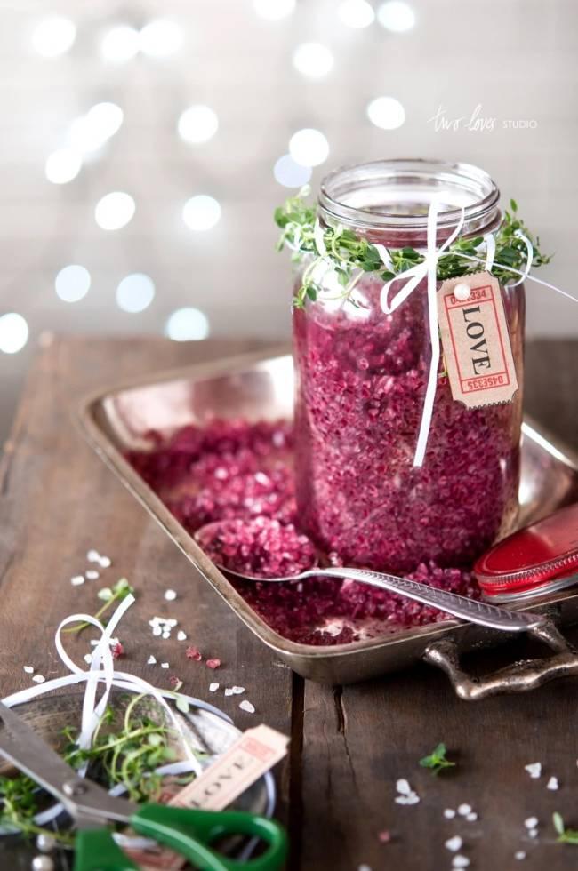 Red Wine Infused Sea Salt