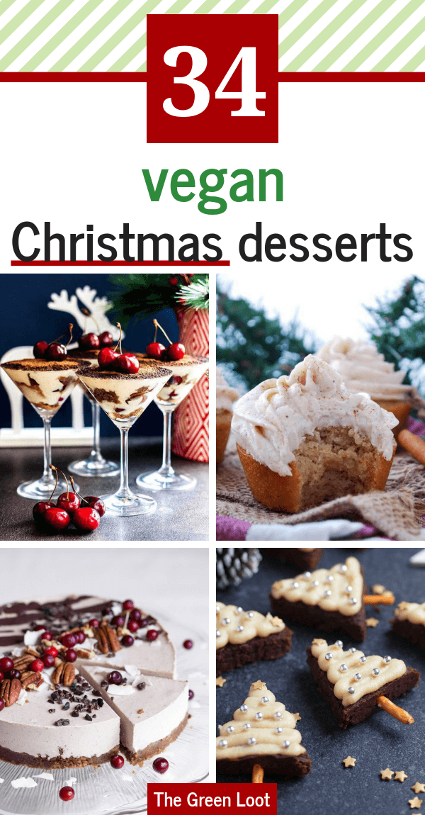 Christmas Dessert Recipes.The Best 34 Vegan Christmas Desserts Treats Egg Free
