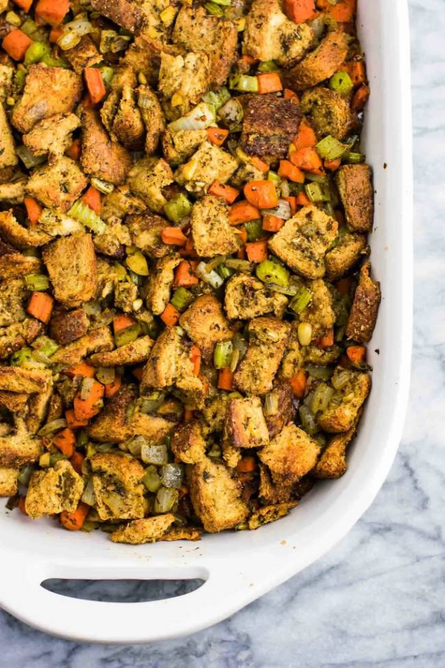 Easy Bread Stuffing