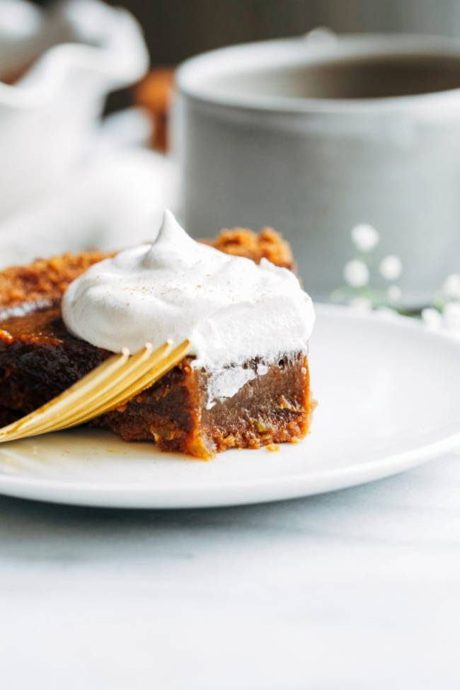Pumpkin Gingerbread Pie