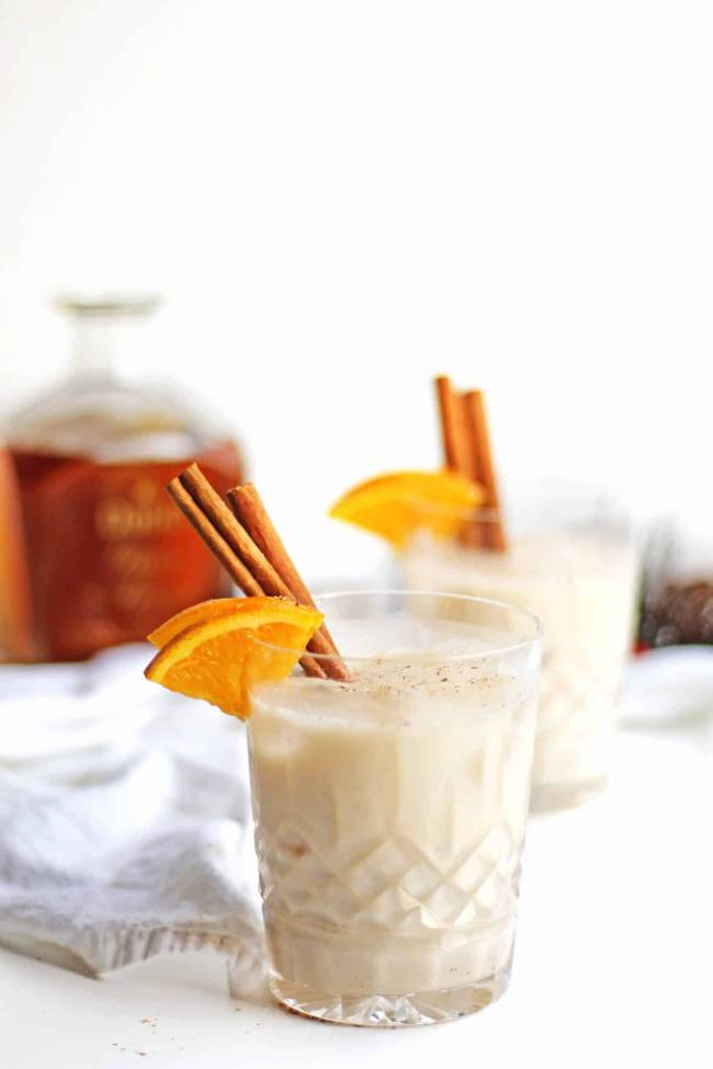 Spiced Orange Coquito