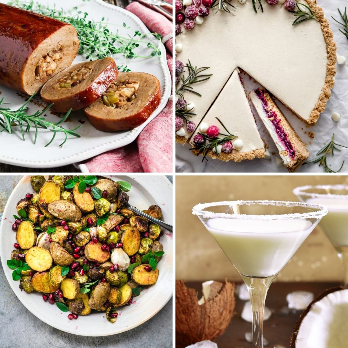 10+ Divine Vegan Christmas Dinner Recipes - Full Menu