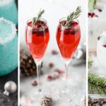 Vegan Christmas Drinks and cocktails