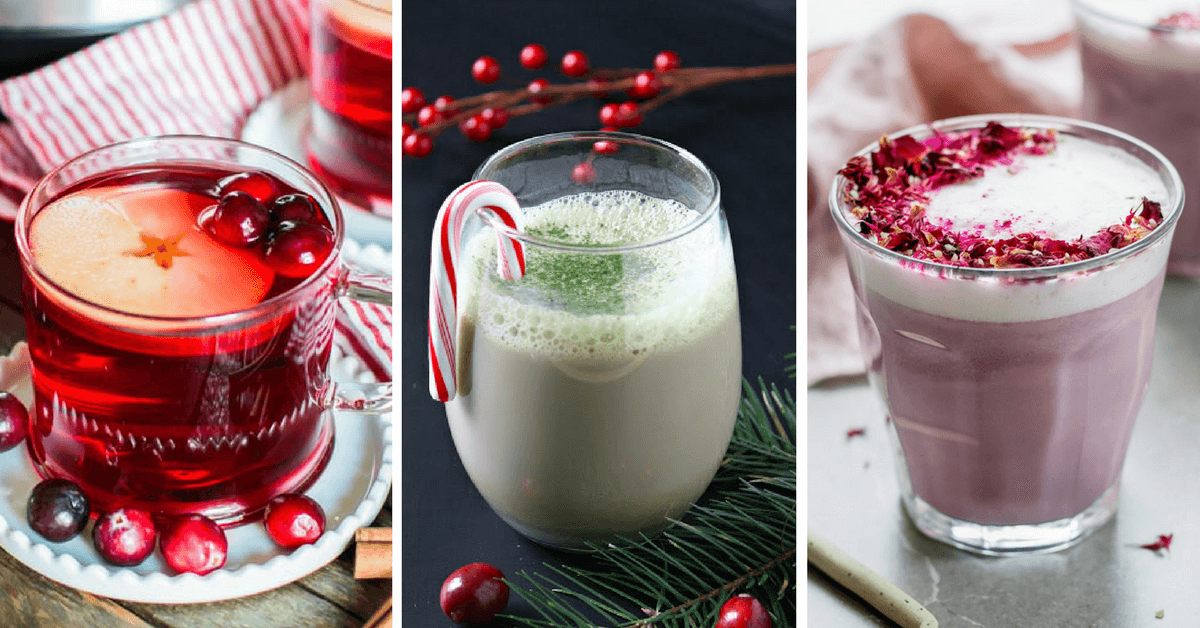 Make these Vegan Cozy Drinks for Winter to warm up your soul! From hot chocolate to apple cider, these dairy-free yummies are perfect for cold days. Enjoy! | The Green Loot #vegan #veganrecipes #dairyfree #Christmas #Winter