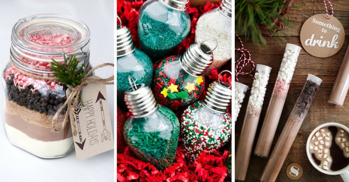These unique diy edible christmas gift ideas are the best for Xmas. They are easy, fun and cheap to make. A cute way to gift even your vegan loved ones. | The Green Loot #vegan #christmas
