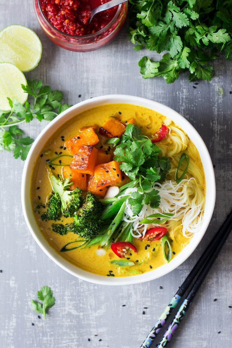 Vegan Khao Soi Soup