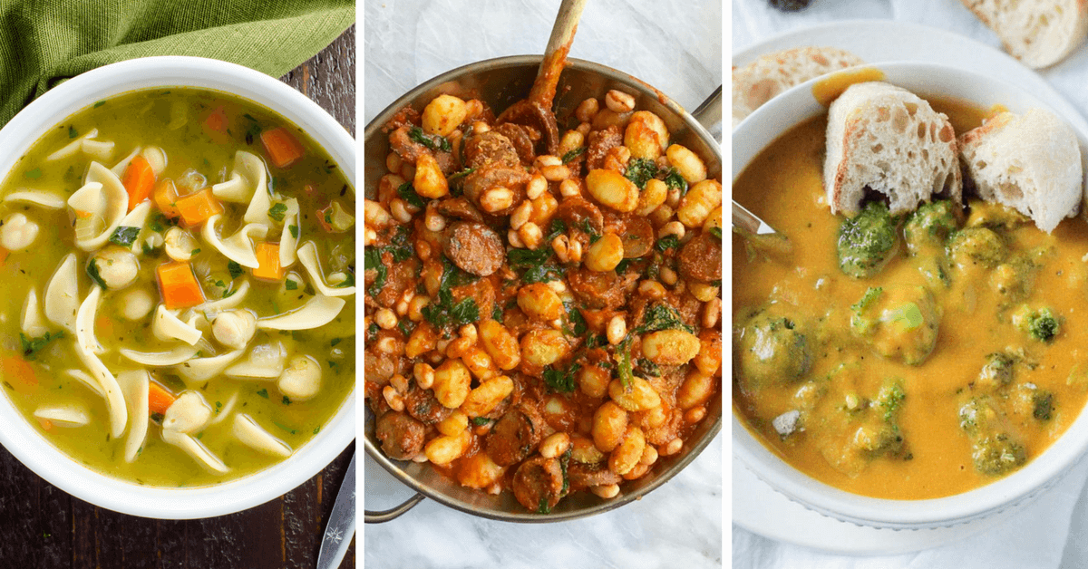 Vegan winter recipes and healthy comfort food that will warm up your body and soul. From simple root vegetables to white beans, they are all tasty dinners! | The Green Loot #vegan #comfortfood