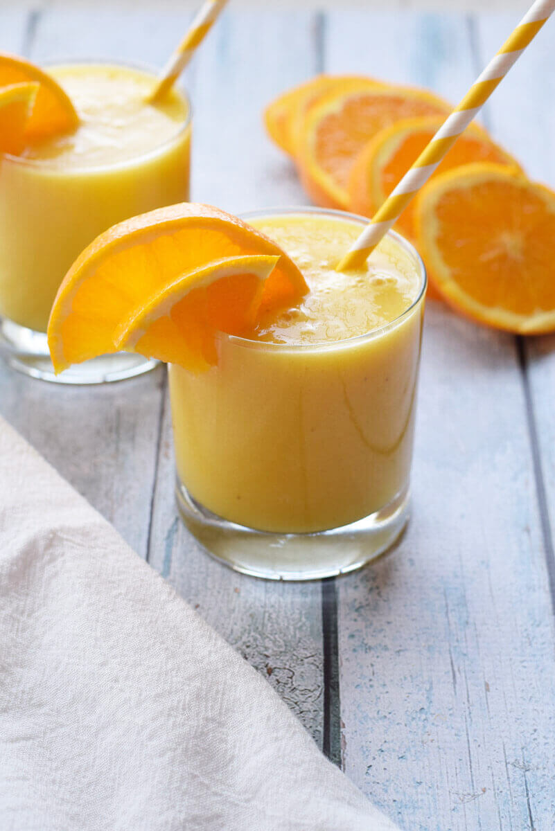 Vegan Immunity Boosting Citrus Smoothie