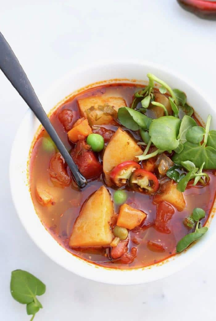 Vegan Hearty Potato Stew