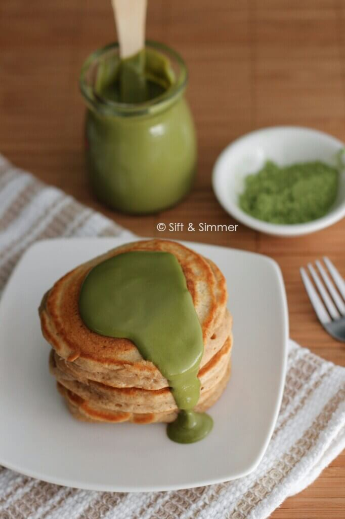 Vegan Matcha Milk Jam // A super creative way to make your morning slices of toast or pancakes more exciting and flavorful. | The Green Loot #vegan #matcha