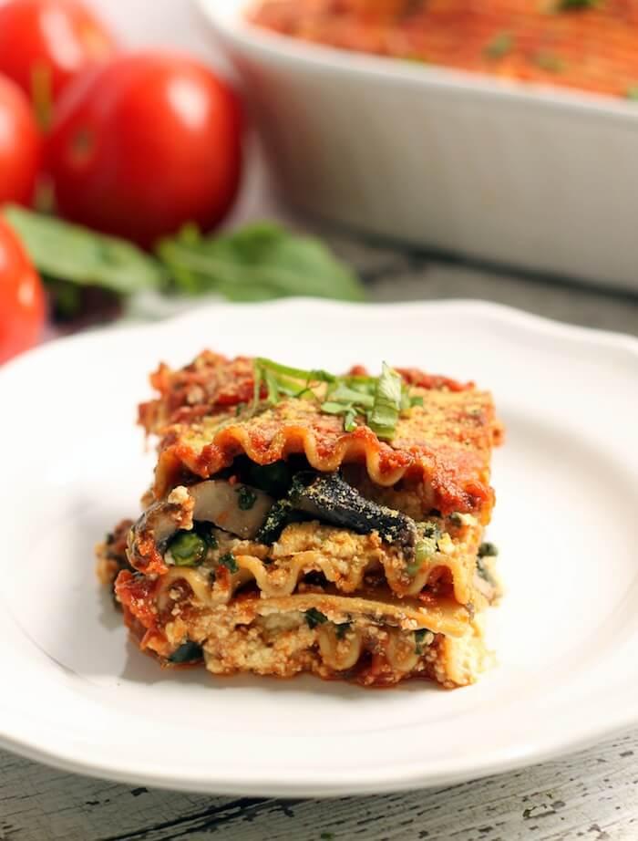 Vegan Easy Lasagna