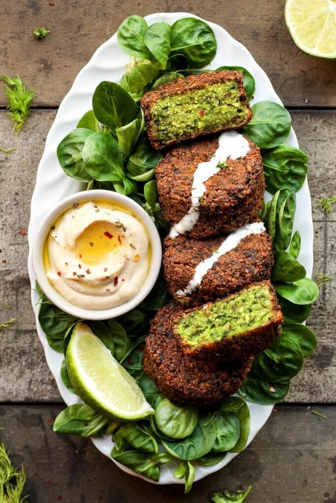Vegan Green Falafels