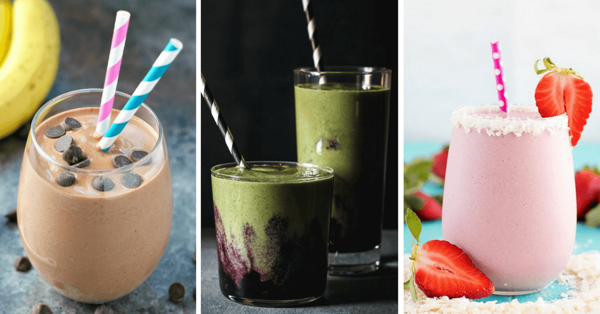 These Vegan Protein Smoothie Recipes for Weight Loss are the perfect tasty drinks to reward yourself after a hard workout or for breakfast. They will aid you in fat burning and muscle growth. | The Green Loot #vegan #veganrecipes #weightloss #healthyeating #healthyrecipes