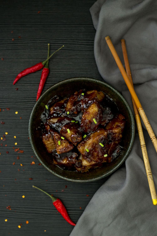 Vegan Sticky Chinese Jackfruit