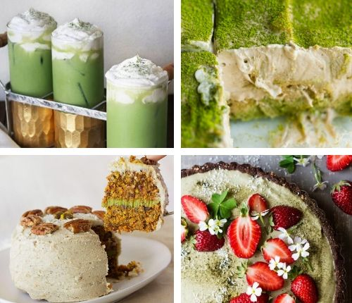 vegan matcha green tea recipes