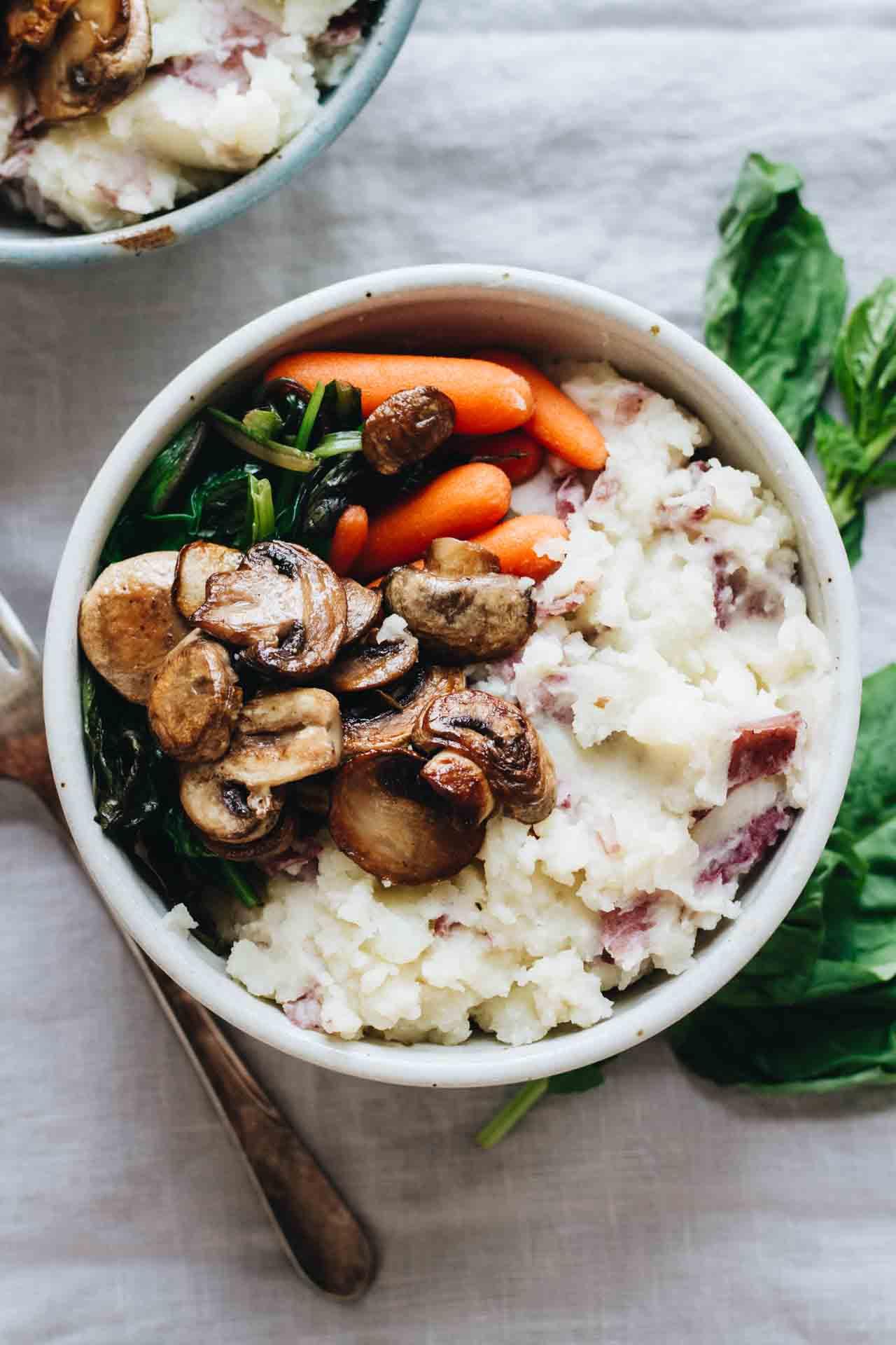 Vegan Mushroom Hemp Patties