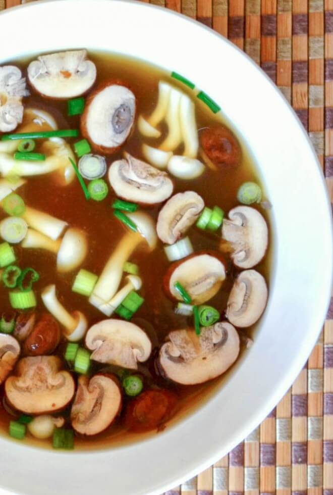Vegan Simple Miso Soup