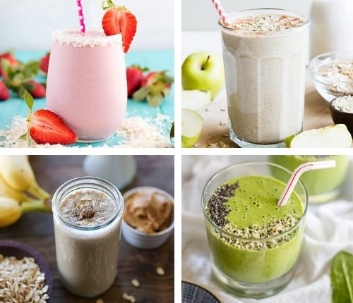 vegan protein smoothie recipes for weight loss