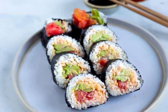 Spicy 'Tuna' Roll