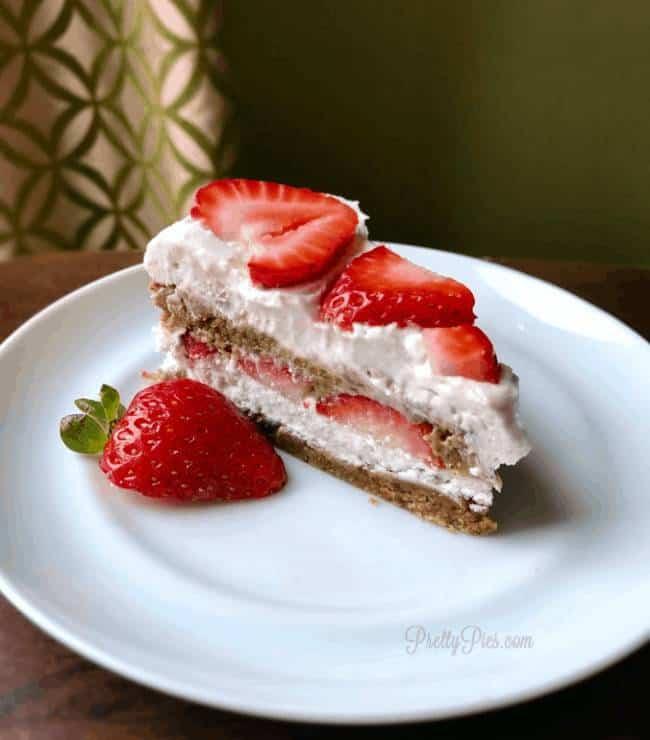 Peanut Butter Strawberry Shortcake