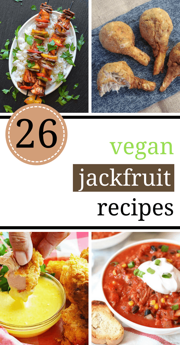 "Vegan Jackfruit recipes make really delicious and satisfying dinners that can even be healthy. You can use your slow cooker/crockpot for cooking pulled pork, tacos, or curry dishes with them. Jackfruit is a great meat substitute and goes really well with BBQ, if you are craving those ""meaty"" flavors and texture. 