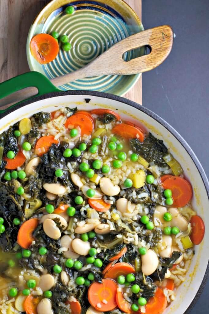 Vegan Spring Pea Soup