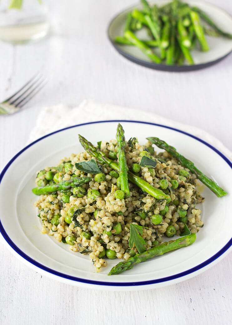Vegan Buckwheat Risotto