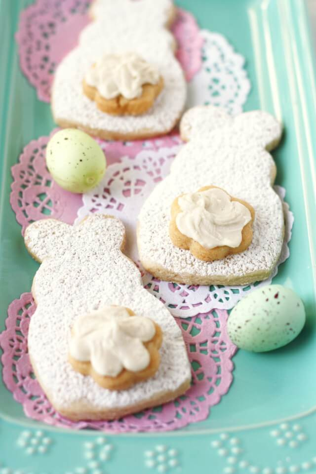 Vegan Bunny Cut Out Sugar Cookies