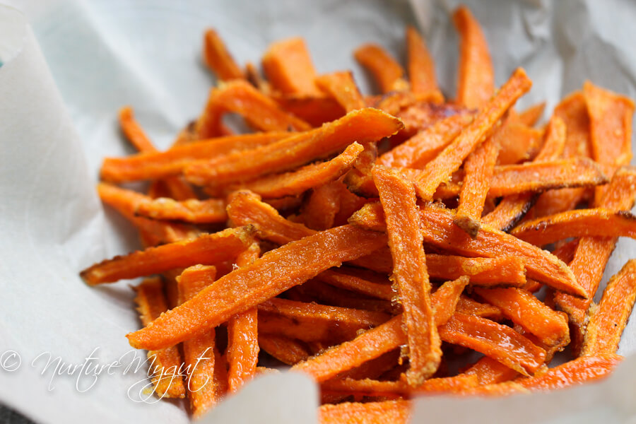 Vegan Oven Baked Sweet Potato Fries