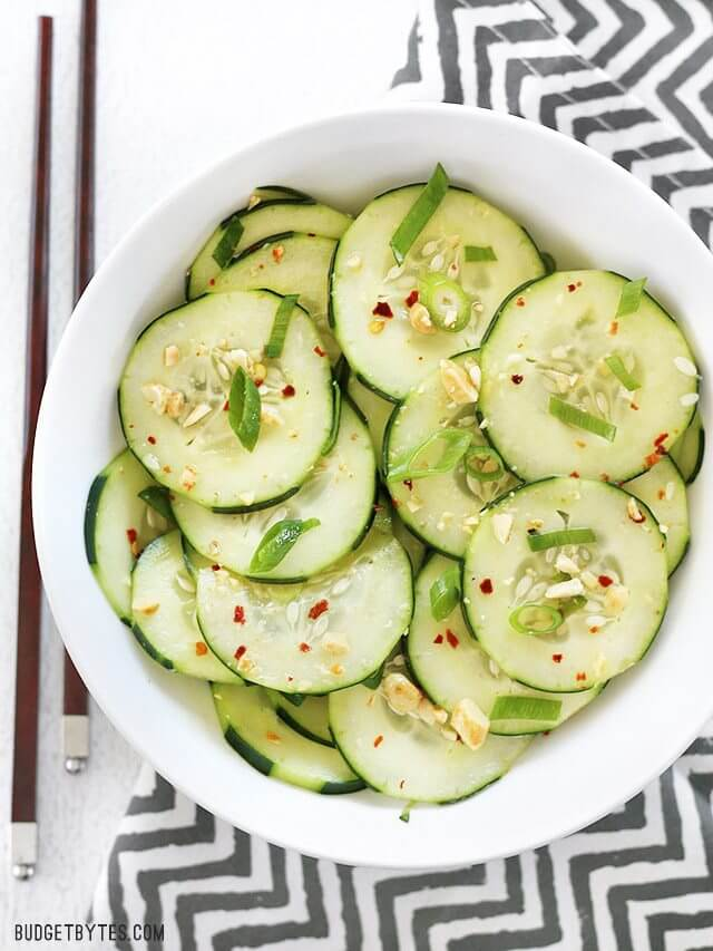 Vegan Thai Cucumber Salad