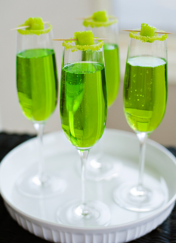 Vegan Shamrock Champagne