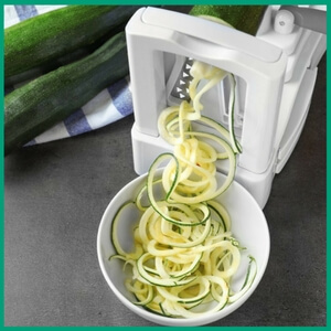 Spiralizer - Must-Have Kitchen Appliances and Gadgets for Vegans | The Green Loot #vegan #kitchen