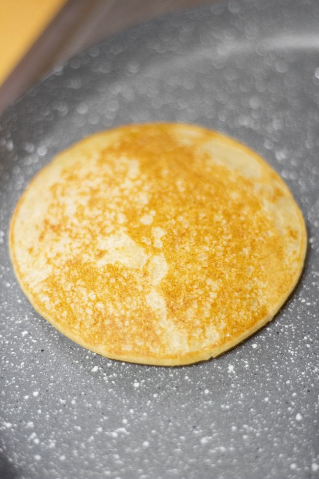 pancake in a pan