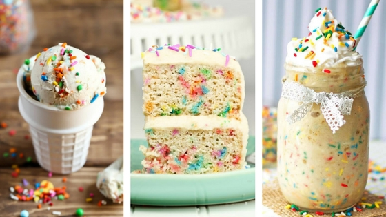 vegan funfetti recipes