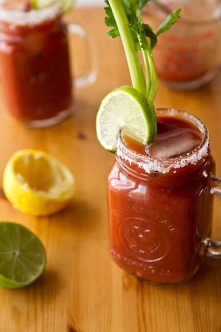 Vegan Bloody Mary | The Green Loot #vegan #brunch