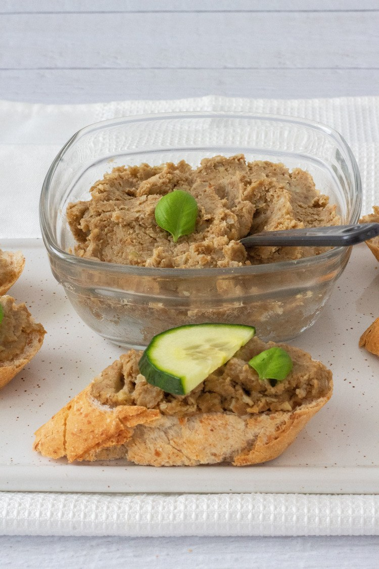 Vegan Lentil Tuna Spread