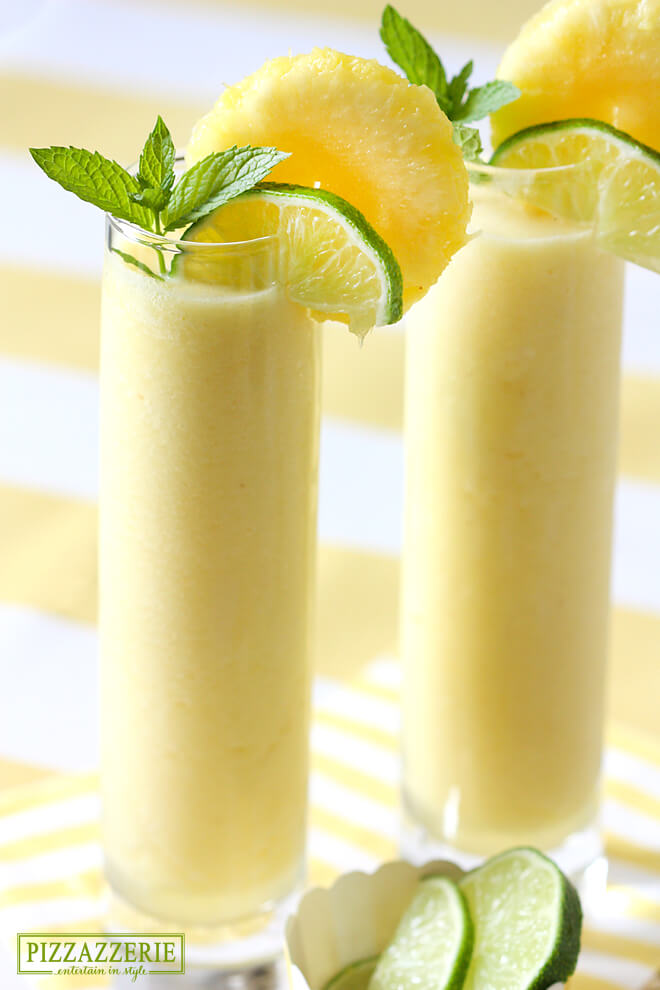 Vegan Pineapple Coolers