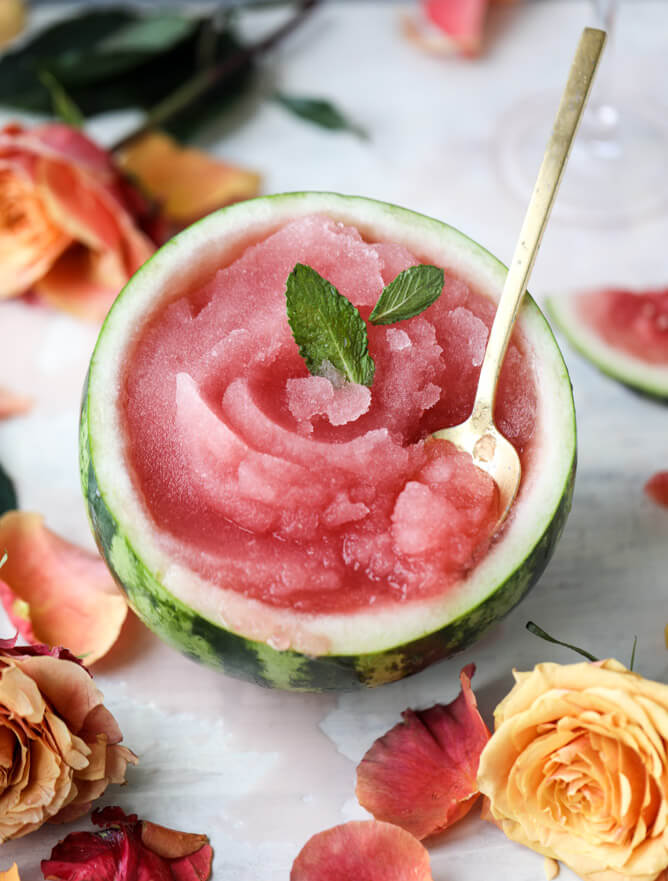 Vegan Watermelon Frosé