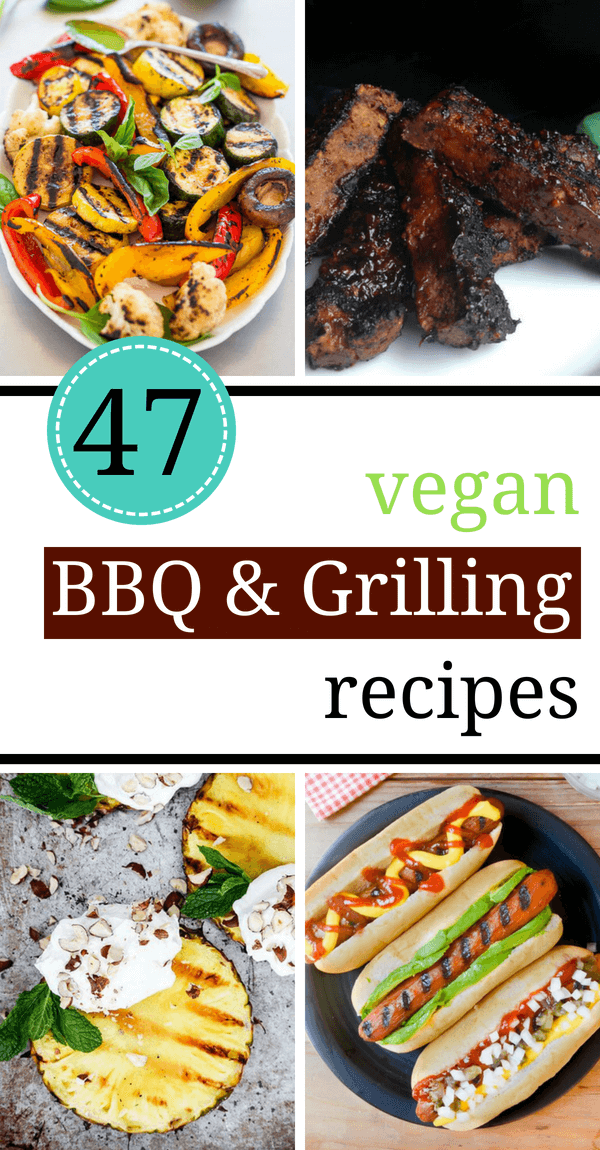 Vegan Summer Recipes for BBQ and Grilling that are perfect for your veggie barbecue parties. These tasty cocktails, delicious main dishes and sweet treats will make your summer unforgettable! | The Green Loot #vegan #veganrecipes #BBQ #Summer