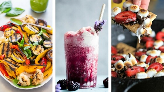 Vegan Summer Recipes for BBQ and Grilling that are perfect for your veggie barbecue parties. These tasty cocktails, delicious main dishes and sweet treats will make your summer unforgettable! | The Green Loot #vegan #Summer