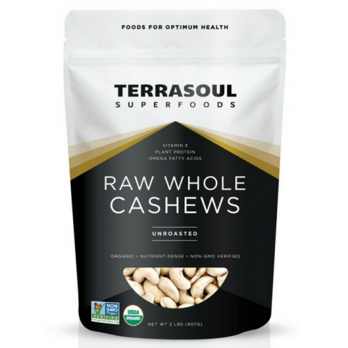 Organic Whole Cashews, Best Quality - Buy at The Vegan Shop!