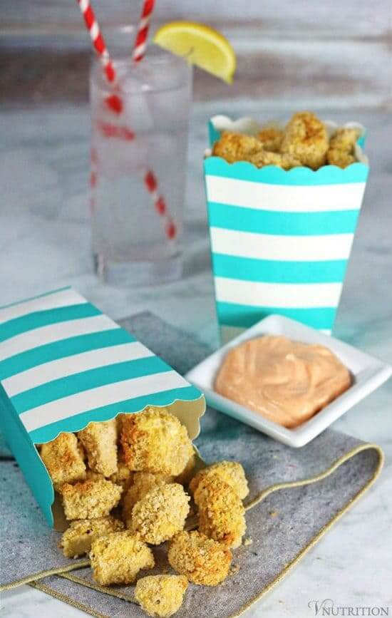 Vegan Popcorn Tofu // | The Green Loot #vegan