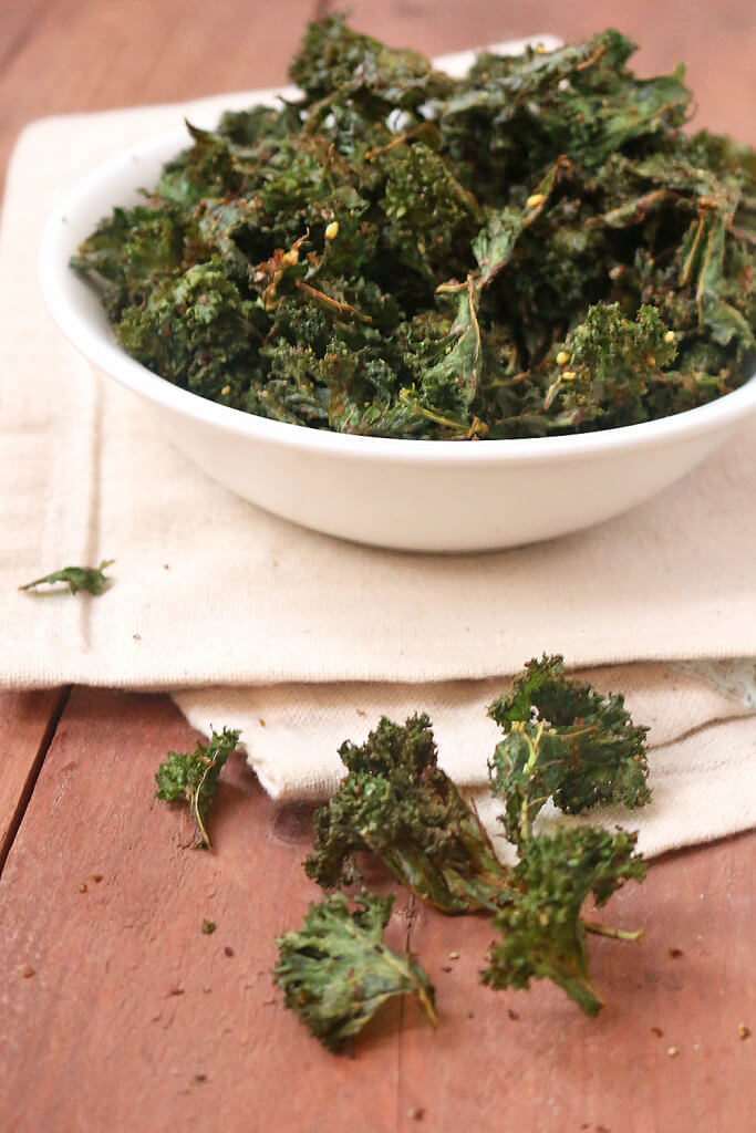 Vegan Za'atar Kale Chips // | The Green Loot #vegan